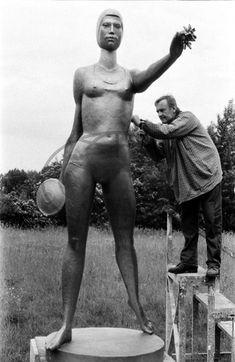 Zdeněk NĚMEČEK, sochař, socha Sumo, Wrestling, Sports, Lucha Libre, Hs Sports, Sport