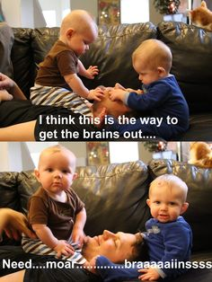 So this is what happens to the brains of twin parents
