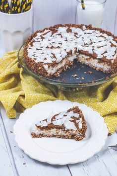 Healthy Cake, Healthy Desserts, Dessert Recipes, Raw Vegan Cake, Diet Recipes, Vegan Recipes, Candida Diet, Paleo, Sugar Free