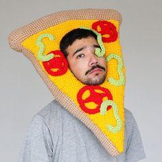 Artist Crochets Delightfully Oversized Foods to Wear on Your Head - My Modern Met