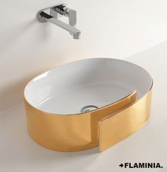 Ceramica Flaminia, Lavabi/Basins - ROLL, Nendo 2010 #CeramicaFlaminia #design #ceramic