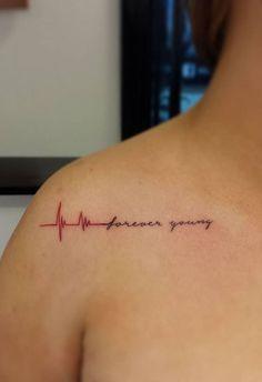 Small Script Tattoo