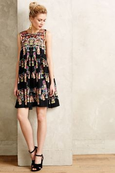 Lantern Line Swing Dress - anthropologie.com