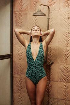 Maillot de bain une pièce imprimé, Paradis terrestre, Ysé #frenchbrand #swimwear #summer #été #travel