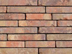Klinkerriemchen / Retro Riemchen K301R / Klinker / Fassade / Muster / Tafel / rotbunt