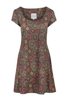 Arty Floral Cap Sleeve Tunic  http://www.mistral-online.com/clothing-c50/tunics-dresses-c1/arty-floral-cap-sleeve-tunic-multi-reds-p15620