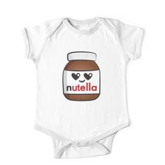 Nutella face 5 Kids Clothes