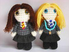 Harry Potter and Twilight amigurumis - CROCHET