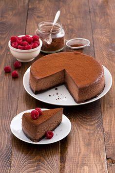 La cheesecake Choco noir Dal nuovo libro di Mauro Padula e Carolina Turconi una ricetta davvero golosa