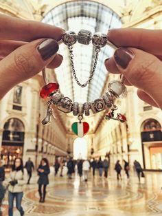Galleria Vittorio Emanuele - Pandora bracelet <3