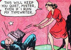"""superdames: """" An accurate representation of my computer problems. —""""Penny Wright"""" in Champion Comics writer & artist uncredited """" Old Comics, Comics Girls, Vintage Comics, Funny Comics, Comic Book Heroines, Comic Books, Comic Frame, Vintage Pop Art, Comic Book Panels"""