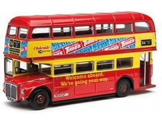 The Original Omnibus Routemaster - Scottish Clydeside - 36 Glasgow Buchanan is a diecast model bus in 1/76 scale. It is a superb model for any die cast model bus collector. Clydeside Scottish Omnibus Ltd formed in 1985 from Western SMT Company Ltd as a subsidiary of the Scottish Transport Group. One of the shortest lived 'new' Scottish Bus Group subsidiaries it remerged with Western Scottish, the successor company of Western SMT in 1989.