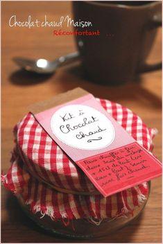 Kit à chocolat chaud maison...