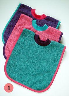 pullover baby bibs diy