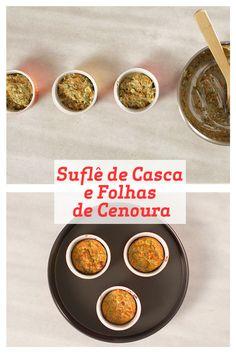 Esta receita de Suflê de Casca e Folhas de Cenoura é prática, saborosa e cheia de vitaminas graças ao uso integral desse ingrediente tão rico em propriedades nutricionais. Que tal fazer em casa?