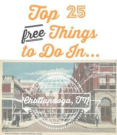 Free Things to Do In Chattanooga Heading to Chattanooga? Here is a list of 25 free things to do while you're in town.Heading to Chattanooga? Here is a list of 25 free things to do while you're in town. Ashville Nc, Chattanooga Tennessee, Downtown Chattanooga, Asheville North Carolina, Parks, Nc Mountains, Tennessee Vacation, Free Things To Do, Fun Things