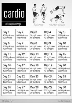 cool 30 day challenges