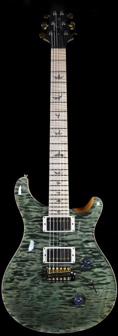 0851ce1d09c prs custom - 24 artist package. trampus green. Prs Guitar