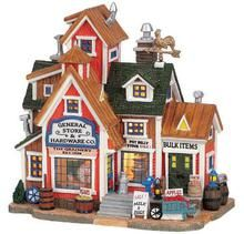 65363 - General Store & Hardware Co. - Lemax Harvest Crossing Christmas Houses & Buildings