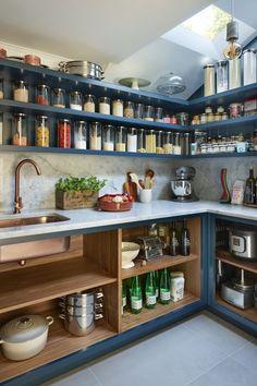 Quirky Kitchen, Life Kitchen, Kitchen Room Design, Home Room Design, Home Decor Kitchen, Interior Design Kitchen, Kitchen Furniture, New Kitchen, Home Kitchens