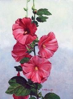 Painting-Flowers on Pinterest | Acrylic Paintings, Flower ...