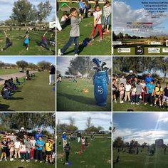 It was an amazing afternoon with the Native Youth from surrounding areas. It means a lot to me to get the Native American families out on the golf course to enjoy an amazing game a game with history. I am happy to work at a facility like Talking Stick Golf Club who let me reach out to families to take up the game for free. And I am proud to be a part of Nike N7 Golf who support me in growing the game in Indian Country! #Golf #kidsgolf #FamilyGolf #growthegame #NativeStrong #Nike #N7 #PFS…