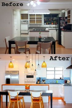 A unique, modern, personality-filled Ikea kitchen remodel reveal. Lots of pictures, details, ideas, inspiration.