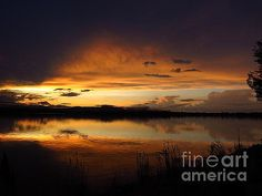 Sunset on Lake Loveland 1 by Diane M Dittus