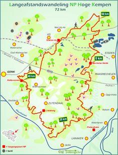 Nationaal Park Hoge Kempen Limburg Lange afstandswandeling