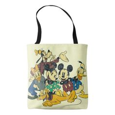 NEW Disney Mickey Mouse 1928 Reusable Tote Bag Hot Dog Pencil New w// tags