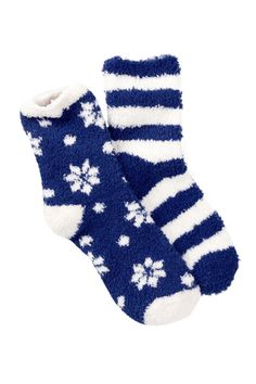 Pattern Fuzzy Socks - Pack of 2 by Free Press on @nordstrom_rack