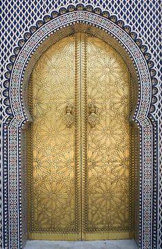 Beautiful door - marroquí style