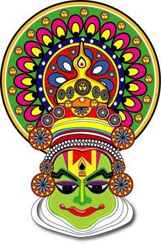 Kathak kali mudra In Madhubani style by seemaadhurwe.deviantart.com on @DeviantArt