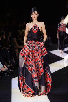 Armani Prive - Haute Couture - Spring 2013 - Spring 2013's Most Beautiful Haute Couture Gowns - StyleBistro
