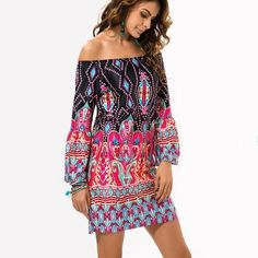 Bohemian Summer Dress for Sexy Ladies