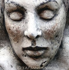 Handgefertigte Skulptur Gips OOAK von Tatjana Raum von chopoli