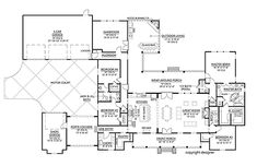Farmhouse Plans, Farmhouse Design, Modern Farmhouse, Farmhouse Style, Mud Room Garage, Car Garage, Garage House, Kitchen Cabinets Elevation, Porte Cochere