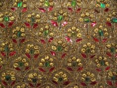 Jewel beetle wings had been used to decorate textiles in India for centuries prior to British colonization. Their fingernail-like consistency even made them durable enough for use on lightly worn clothing.