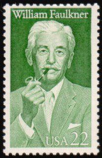 Literary Stamps: Faulkner, William (1897-1962). #reading #books #authors