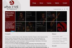 Strona internetowa zespołu muzycznego