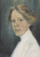 MiliWeber portret van een vrouw