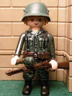 Soldado aleman custom 2ª Guerra Muldial
