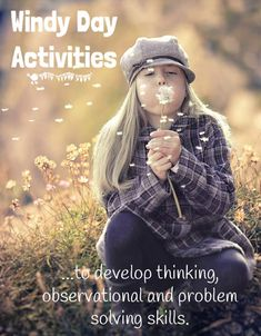 WINDY DAY ACTIVITIES to develop kids observational, thinking & problem…