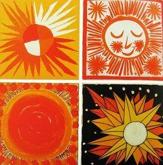 1964 NY World's Fair scarf designs by Vera Neumann