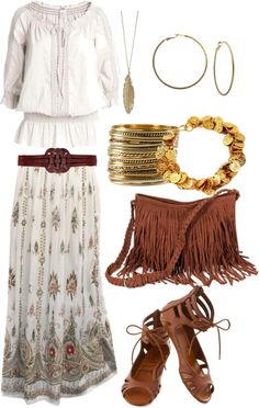 """""""Gypsy Style"""" by anesbitt09 ❤ liked on Polyvore"""