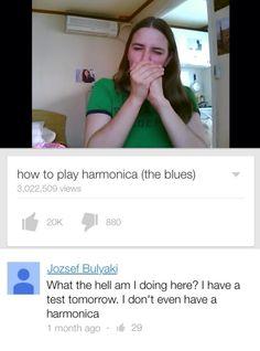 SAAAAAAAMEEEEEE Altho I do have a harmonica :>