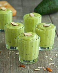 Vanilla & Honey Avocado Pudding  #TheIronYou
