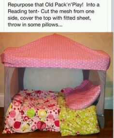 New play pen, Great Idea ! Going to try this for my Kaylee Bug !