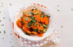 Receita de Saladinha de Cenoura à Algarvia