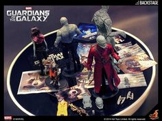 Teasing guardians of the galaxy hot toys